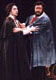 TOSCA. With Luciano Pavarotti. Ópera di Roma, 2000. © Photo: Corrado Maria Falsini.